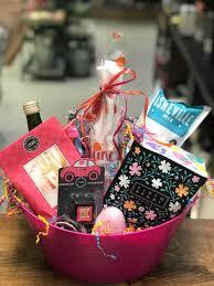 birthday baskets happy birthday basket winey