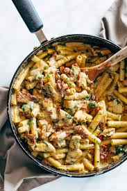 Pasta Recipes Sun Dried Tomato Chicken Florentine Pasta Recipe Pinch Of Yum