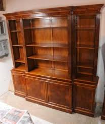 Break Front Bookcase Walnut Bookcase Antique Bookcases Breakfront Victorian English