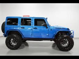 jeep wrangler 4 door blue 2015 jeep wrangler unlimited rubicon hardrock for sale in tempe