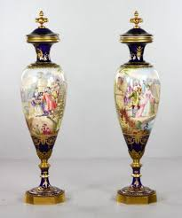 urns for sale antique pair of 19th century sevres urns with covers for sale