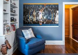 curries home decor stephen curry nba 3 point record mural wall decal shop fathead