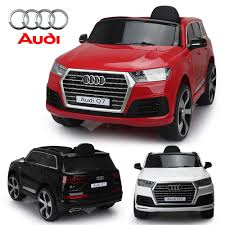 audi q7 licensed kids ride on 12v battery remote control led