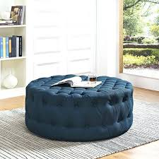 ottoman mini ottoman fabric round ottoman table with backrest