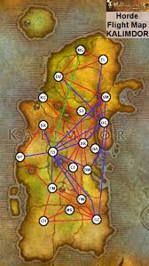 kalimdor map category flight points wiki of warcraft zam