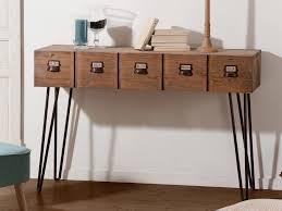 console cuisine wonderful meuble cuisine 120 cm 15 console en bois et m233tal