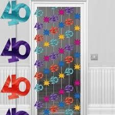 40th Bday Decorations 40th Birthday Decorations U0026 Banners 40th Birthday Party