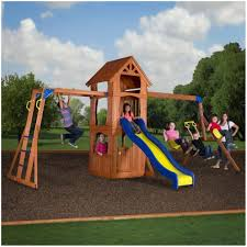 backyard discovery tanglewood cedar wooden swing set pictures on