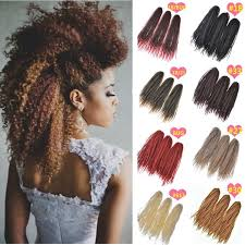 ombre marley hair afro kinky twist hair crochet braids ombre marley braid hair