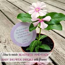 easy baby shower favors how to create beautiful and easy flower baby shower favors