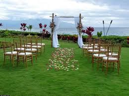 Ideas For A Garden Wedding Lovable Garden Wedding Ideas Breakingdesign And Also Simple 50th