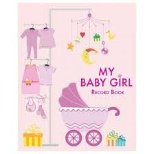 baby book my baby girl record book record book hardcover target