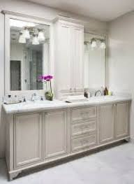 Bathroom Vanity Remodel by Bathroom Vanity With Tall Cabinet In Middle Tsc