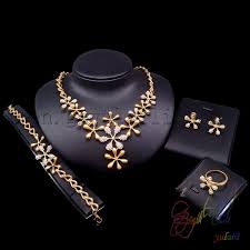 necklace stone setting images Free shipping dubai gold jewelry set jewelry stone setting machine jpg