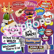 photo booth party props photo booth props signs quotes yoprops yo props