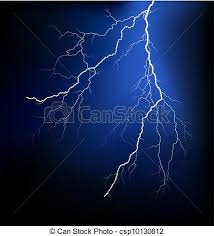 Vector Clip Art Of Detailed Lightning Vector Csp10130812 Search