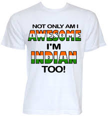india t shirts mens funny cool novelty indian country flag joke