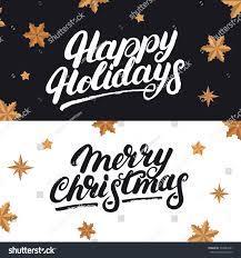 happy holidays merry stock vector 533083441