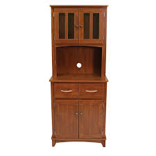 Utility Cabinet For Kitchen by Oak Tall Microwave Cabinet Serving U0026 Utility Carts Kitchen Islands