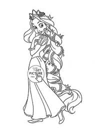 disney tangled rapunzel coloring pages disney tangled