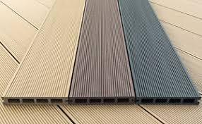 4m wood plastic composite hollow decking boards 18 96 ea inc vat