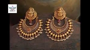chandbali earrings gold chandbali earrings designs fashion9tv