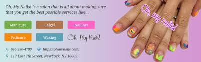 manicure calgel solid color nail art salons nyc gel manicure