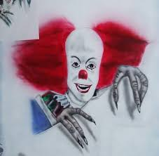 pennywise the clown by tikijohn on deviantart