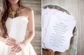 Wedding Program Stationary Wedding Programs Stationary Ph Design Shop Design Two Be Wed