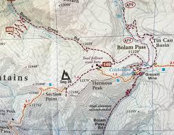 Durango Colorado Map by Durango Singletrack Maps