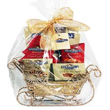ghirardelli gift basket santa s ghirardelli sleigh gourmet gift baskets for all occasions