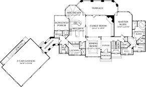floor plans with guest house luxury with separate guest house 17526lv architectural designs
