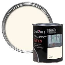 colours one coat interior antique white gloss wood u0026 metal paint