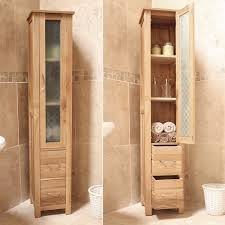 Oak Bathroom Cabinet Mobel Oak Bathroom Furniture Storage Unit Cor19a Best Price