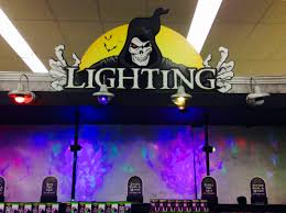 home depot halloween lights spirit halloween 2016 lights and lighting youtube