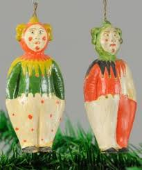 lot 1452 pair of dresden harlequin clowns dresden