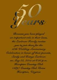 50th wedding anniversary greetings golden anniversary card for your 50th anniversary item aan1008