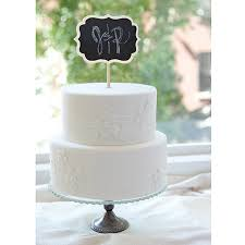 how to your cake topper chalkboard cake topper walmart