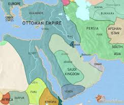 Present Day Ottoman Empire Map Of Middle East At 1648ad Timemaps