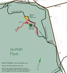 griffith park map directions to amir s garden