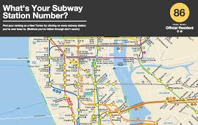 Subway Nyc Map What U0027s Your Subway Cred New Game Judges You Based On The Number