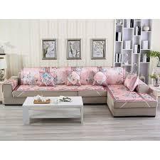 canape pour nouvelle housse de canapé pour le salon fleur motif élastique
