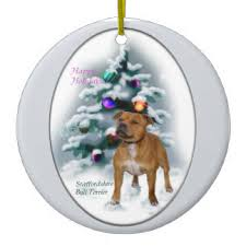 staffy ornaments keepsake ornaments zazzle