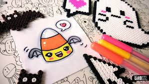 halloween drawings how to draw candy corn by garbi kw youtube
