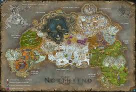 Wow Kalimdor Map Lore Of The Cards Y U0027shaarj Hearthstone
