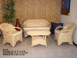 divanetti in vimini da esterno arredamento mobili salotti in rattan midollino bambu per esterno