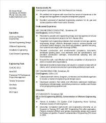 Sample Word Resume by 16 Civil Engineer Resume Templates U2013 Free Samples Psd Example