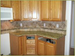 kitchen granite and backsplash ideas santa cecilia granite backsplash ideas home design ideas