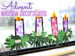 stained glass window craft for christmas and advent kinder craze