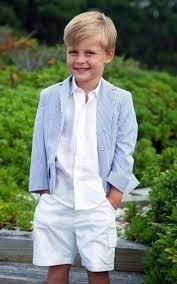 boys light blue tie boys light blue blazer white long sleeve shirt white shorts